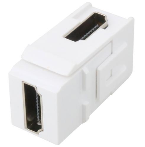 HDMI Coupler Keystone 90 Degree - Female to Female