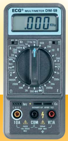 ECG DM-59 Digital Multimeter