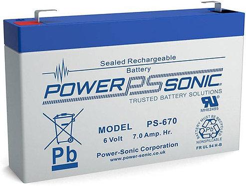 PS-670 - 6V 7Ah