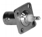 BNC Female Chassis Mount - Square Flange