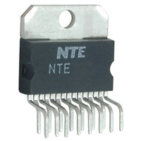 NTE7071 IC Dual Full Bridge Driver 15 Lead SIP