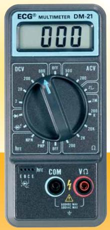 ECG DM-21 Digital Multimeter