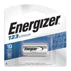 Energizer 123 3V Lithium CR123A