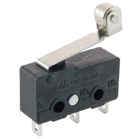 Subminiature Snap Action SPDT 10A Hinge Roller Lever