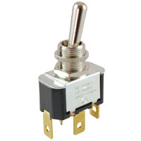 "SPDT - On / On - 3-in-1 Combo Terminals - 15A - 1/2"" Mounting"