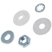 NTE438 Insulator Kit for DO4 / TO64 Stud Type Package