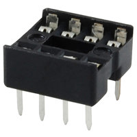 NTE423 Socket For 8-lead DIP Devices - 2 Pack