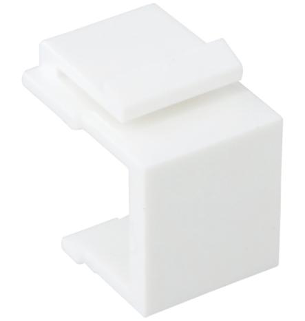 Blank Keystone Insert - White