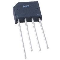 NTE5319 Bridge Rectifier - Full Wave Single Phase 600V 4A
