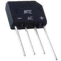 NTE166 Bridge Rectifier 100V 2A SIP
