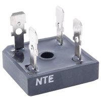 NTE53016 Bridge Rectifier Full Wave Single Phase 200V 50A Low Profile