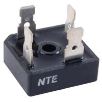 NTE5342 Bridge Rectifier Full Wave Single Phase 600V 40A