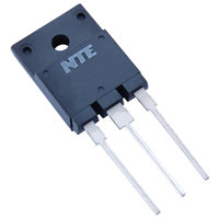 NTE2353 NPN 1500V 10A TV Horizontal Deflection Output w/Damper Diode TO−3PML