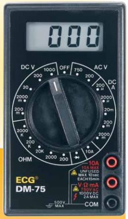 ECG DM-75 Digital Multimeter