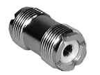 UHF Dual Female Adapter - In-Line Type PL-258