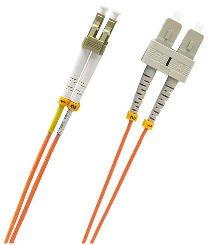 LC/SC Multi-Mode OM1 62.5/125 Micron Patch Cable