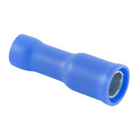 PVC Fully Insulated Bullet Receptacle 16-14GA  - 10 pk
