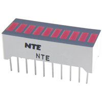 NTE3115 LED 10 Segment Red Bar Graph Display