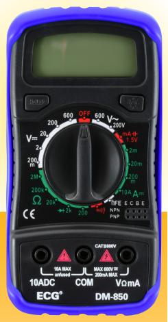 ECG DM-850 Digital Multimeter