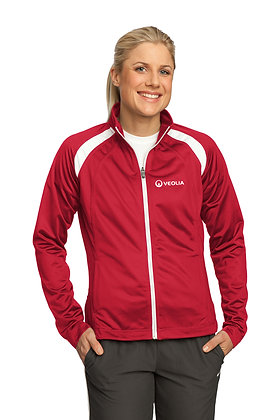Veolia Ladies Tricot Track Jacket. LST90