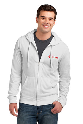 Veolia Young Mens Lightweight Jersey Hoodie DT1100