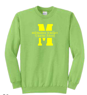 MSCS Fleece Crewneck Sweatshirt