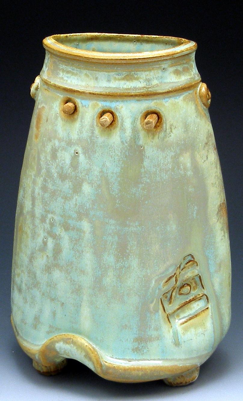 Pegged Vase  $125