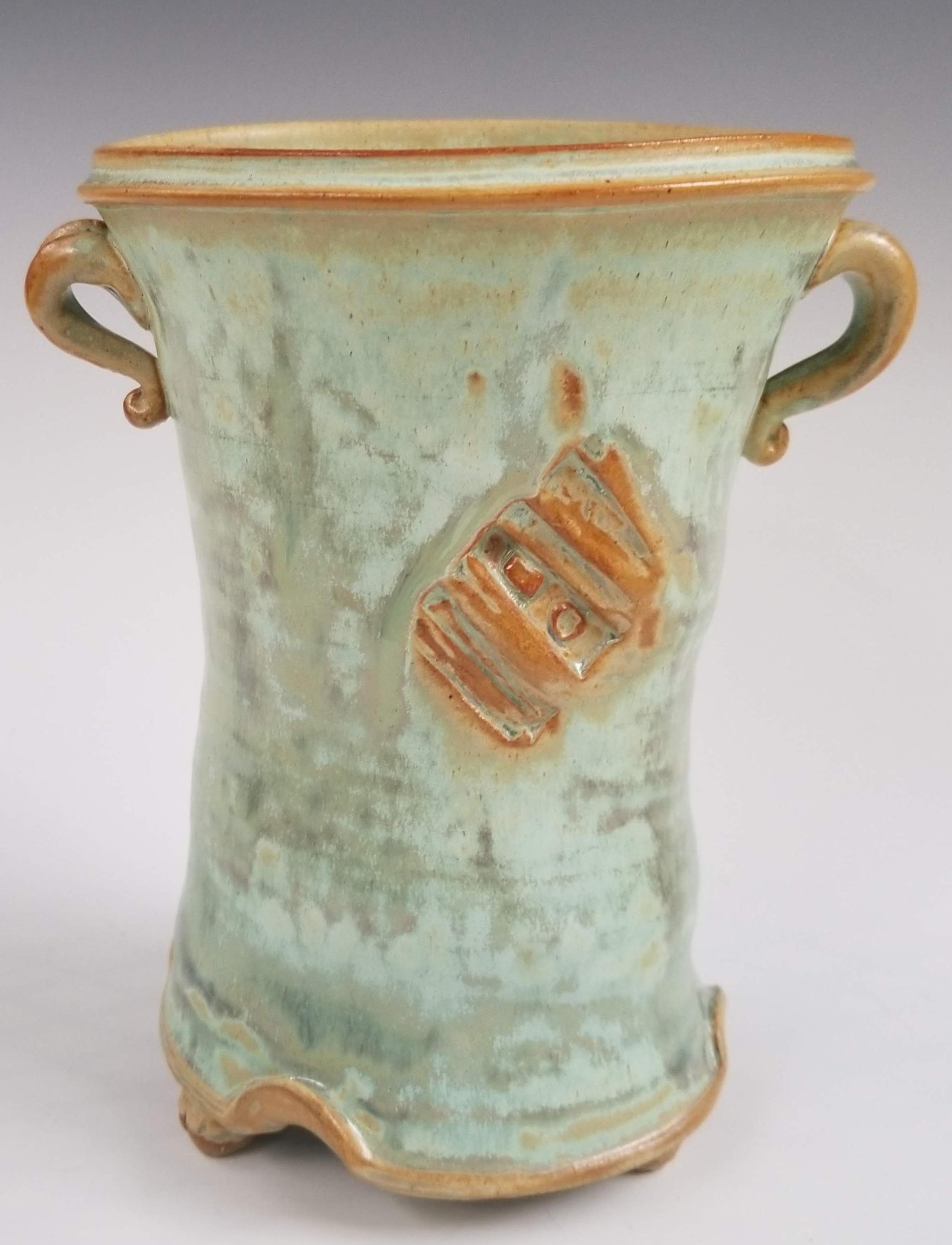 """Skirted Vase, 7"""""""