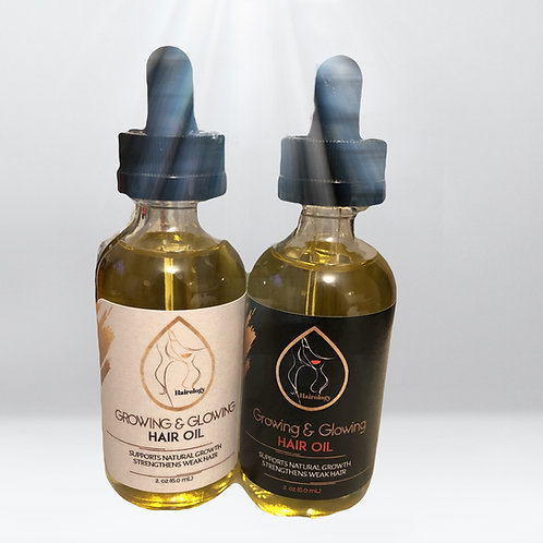 Growing and Glowing Hair Oil
