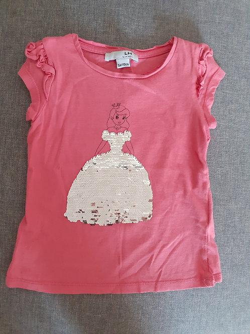 T-shirt sequins magiques - La Halle - 4 & 8 Ans