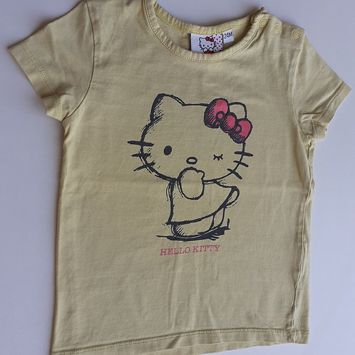 T-shirt manches courtes - Hello Kitty - 2 Ans