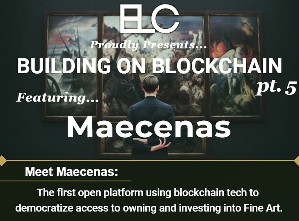 Building on Blockchain pt. 5 ft. Maecenas Cover