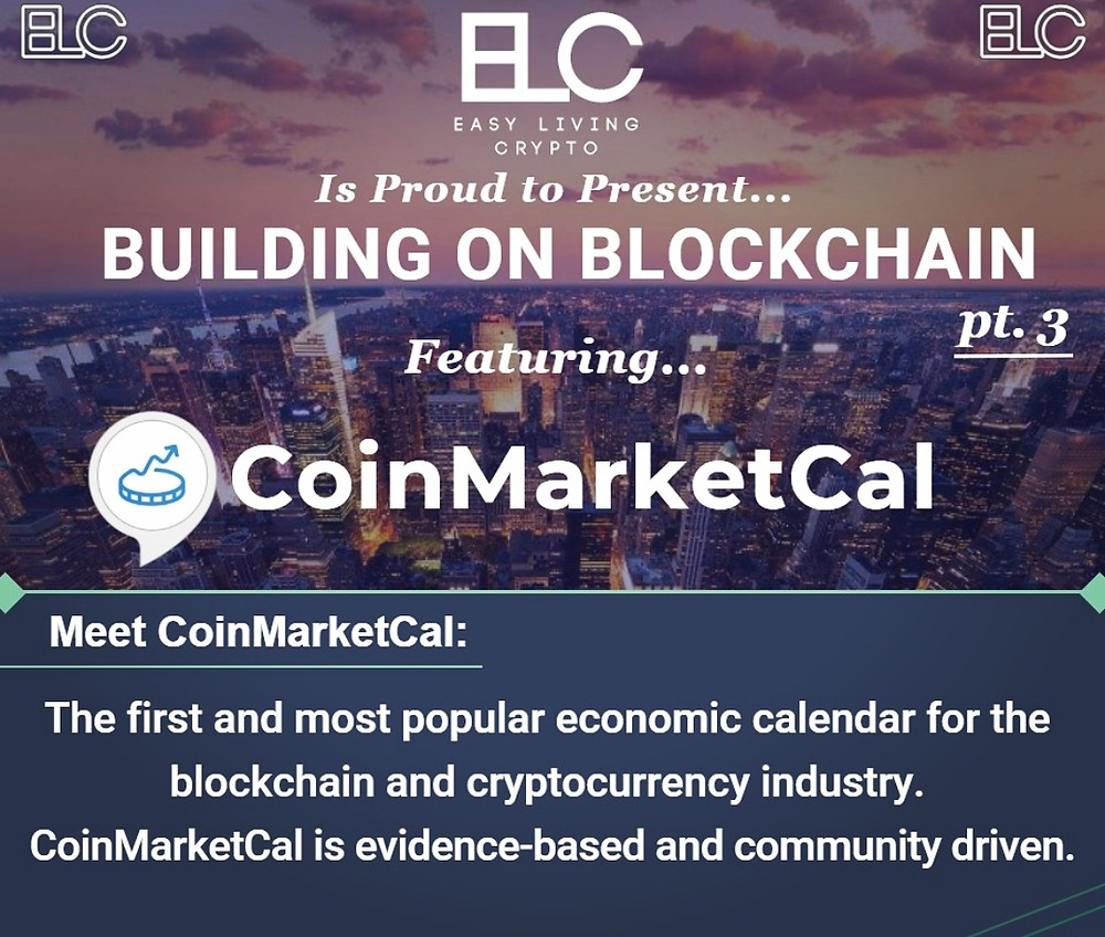 Building on Blockchain pt. 3 ft. CoinMarketCal
