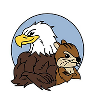 Eagle and Chipmunk