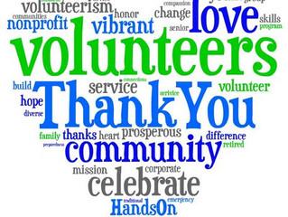 CVALA Volunteers, thank you!!