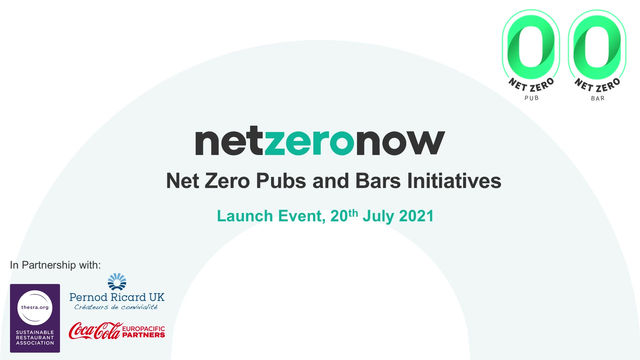 Net Zero Pubs and Bars Launch - Highlights