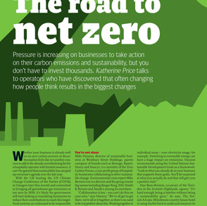 Net Zero Now Featured in The Caterer