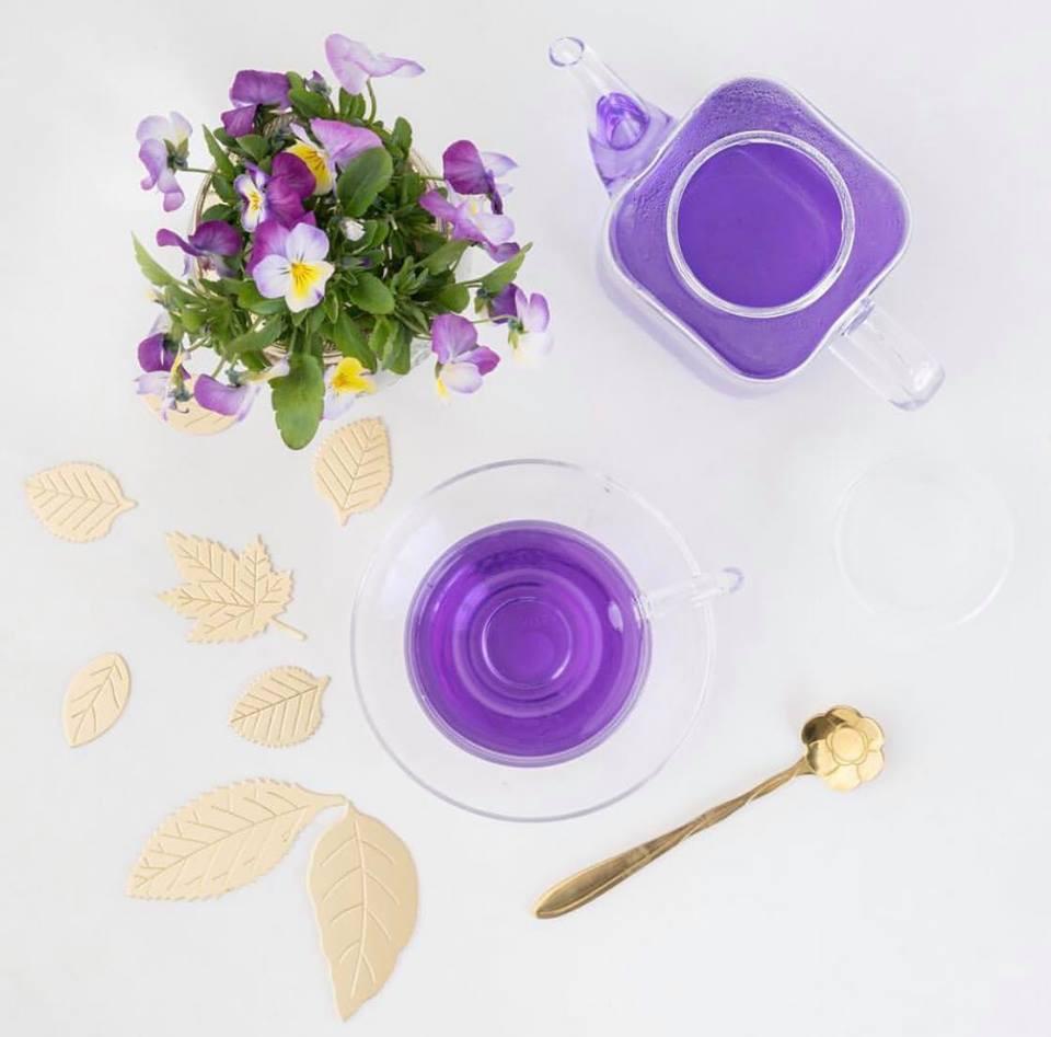 Butterfly Pea Flower Tea   BLUE TEA   My Blue Tea