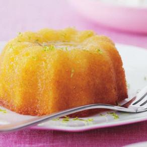 Kaffir Lime Leaf Angel Cake