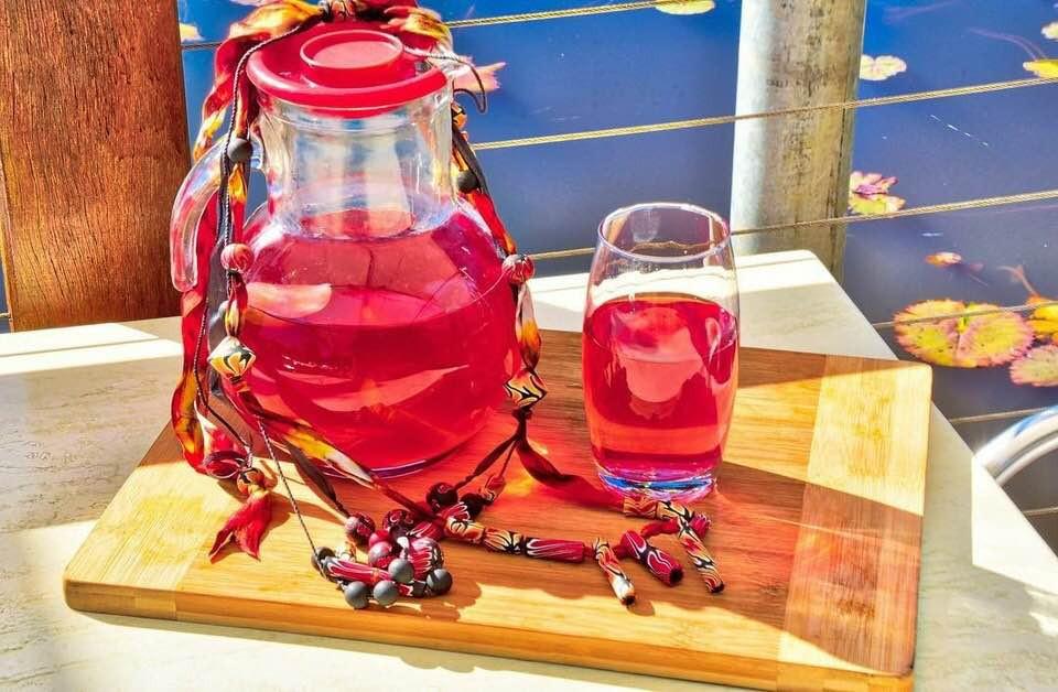 Roselle | Hibiscus | MY BLUE TEA
