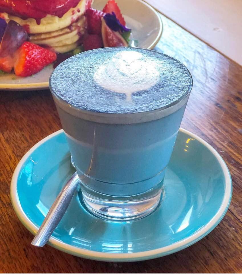 Blue Latte | Blue Tea | MY BLUE TEA
