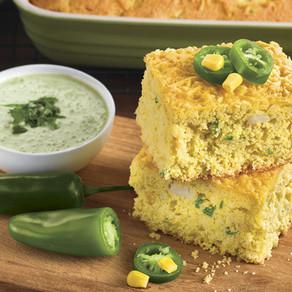 Jalapeno Kaffir Lime Corn Bread! Yum