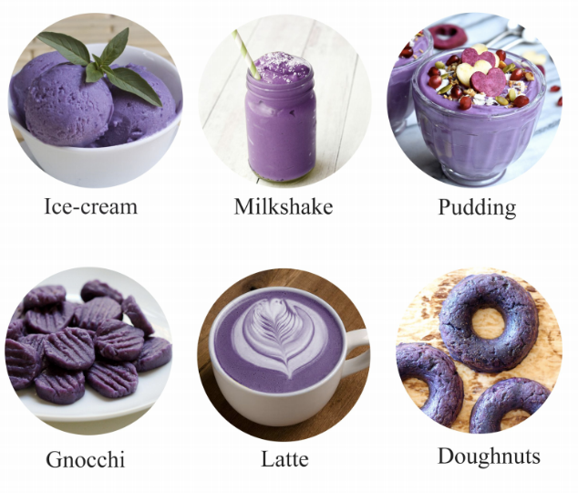 PURPLE SWEET POTATO POWEDER | BLUE TEA