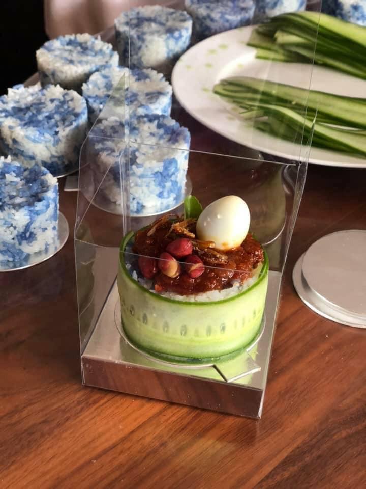 Nasi Lemak | Blue Tea | Bunga Telang