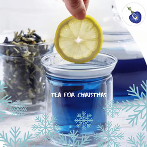 Seasons Greetings to My Blue Tea Family, Friends and Everyone with Love