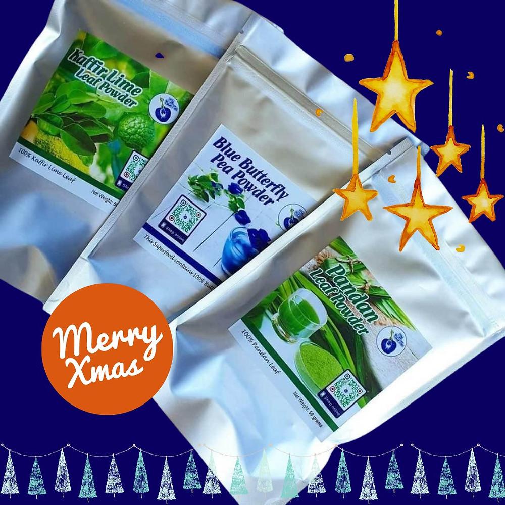 Christmas | Gift | Superfood | MY BLUE TEA