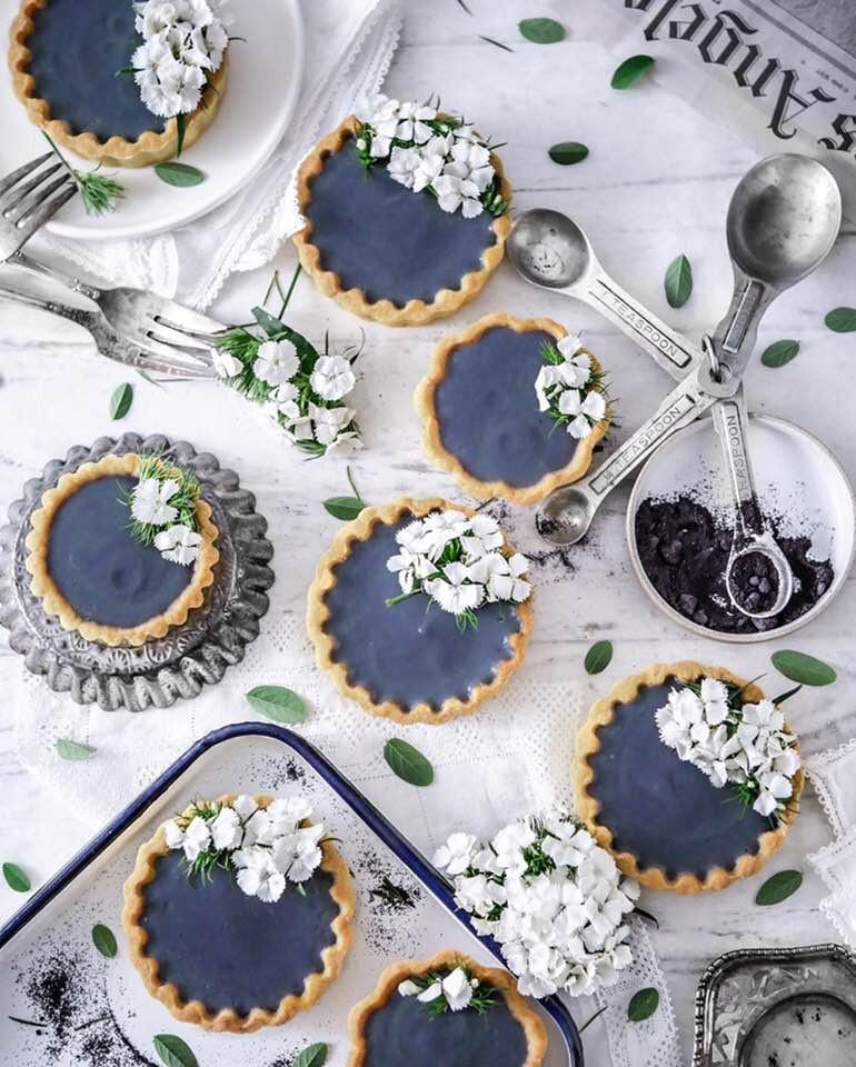 Tarts | Blue Pea | Blue Tea | Butterfly Pea