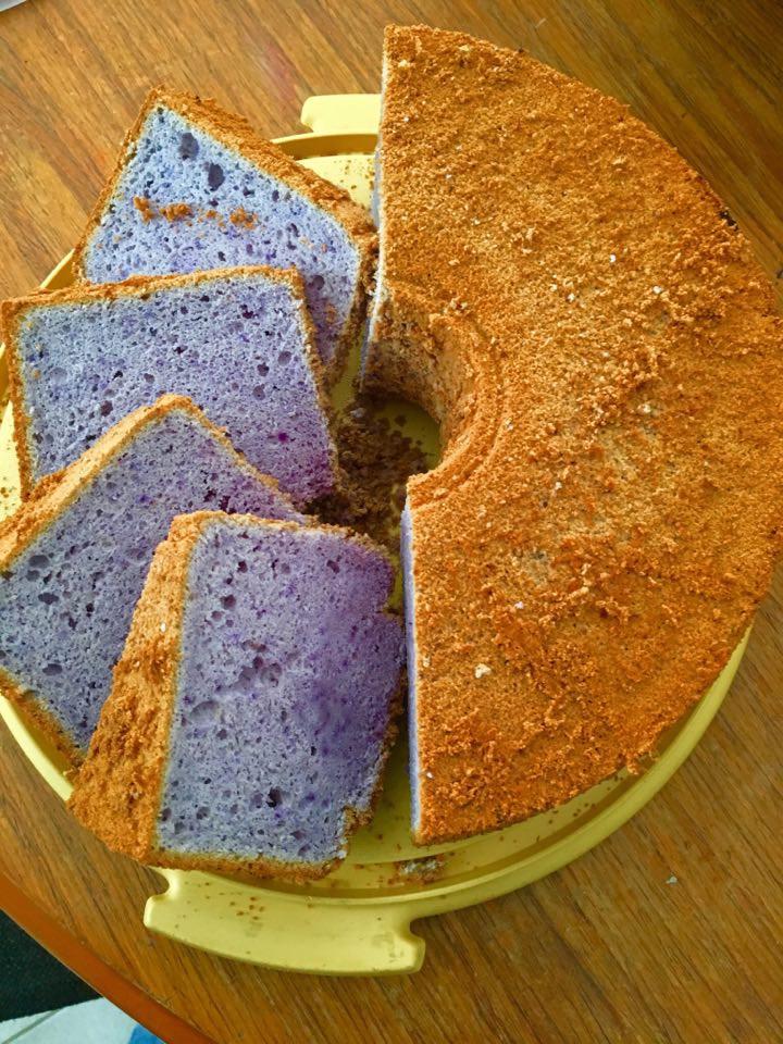 Blue Chiffon Cake by My Blue Tea
