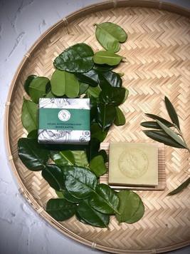 Kaffir Lime Leaf Soap & Shampo manufactured with My Blue Tea Kaffir Lime powder