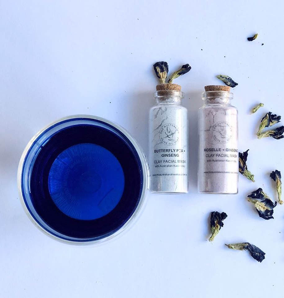 Butterfly Pea Tea | Face Mask | MY BLUE TEA